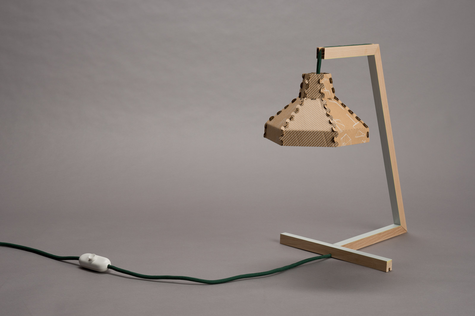Sven Rose Cantilever table lamp